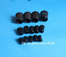 3mm 5mm 8mm Black Plastic LED Clip Holder Case Cup Bezels Mounting Cases