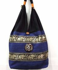 POUCH SLING SHOULDER BAG TOTE THAI HOBO HIPPIE LACE SLING BAG SHOPPING TOUR SEA