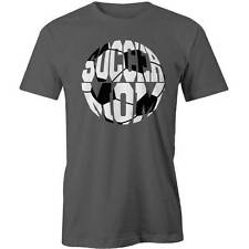 Soccer Ball Mom T-Shirt  Mum Mothers Day Funny Tee New