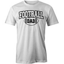 Football Dad T-Shirt Footy Funny Father Fathers Day Daddy Tee New