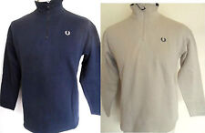 FRED PERRY Sweat Boys Youth Jumper 1/2 Zip Top Navy,Stone Sizes S - XL