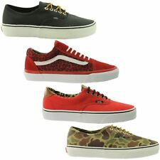 Vans Authentic Era 59 Old Skool Trainers-Unisex-Canvas-Lo-Mens-4 Great Colours