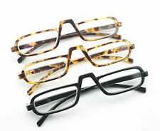 EGO Unisex Style Design Reading Glasses Black Amber Tortoise Nerd +1.50