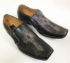 Men's Dress Shoes Casual Loafers Slip On Tapered Fashion Toe Italian Style Sizes