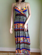 Maxi Full Length Summer  Dress Spaghetti  straps    by John Zack