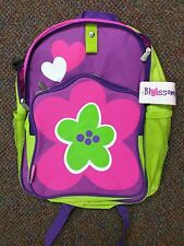 Neat-Oh Blossom Bags Green & Purple Backpack BRAND NEW WITH TAGS