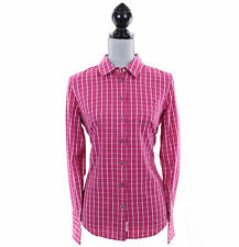 Tommy Hilfiger Women Classic Fit Long Sleeve Plaid Button Down Shirt - $0 Ship