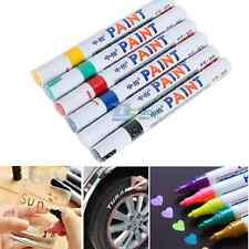 Coloured Permanent Paint Pen Tire Metal Glass Wood Marking Ink Marker Oil Based