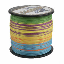 8 Strands Spectra 500M Multicolor Super PE Dyneema Braid Fishing Line 10LB-300LB