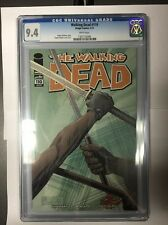 WALKING DEAD BY KIRKMAN #110 CGC 9.4 1ST PRINTING AMC TV! HOT! FREE SHIPPING!