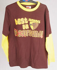 Official AFL Hawthorn Hawks Toddler Long Sleeve Tee