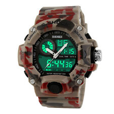 Fashinal  Leisure Military Army Infantry Rubber Band Men's Quartz wrist Watch