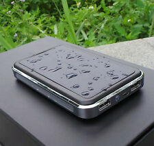 100000mAh Solar Charger Dual USB External Battery Bank For Cell phone Tablets