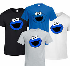Cookie Monster Sesame street KIDS ADULT UNISEX T-SHIRT  FUNNY CRAFT GIFT 5*