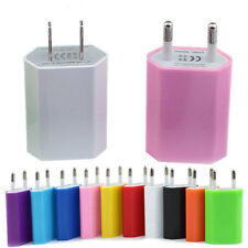 20 PCS EU Plug USB AC Wall Charger Travel Power Adapter for iPhone 5 4S Samsung