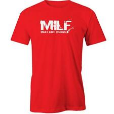 MILF Man I Love Fishing T-Shirt  Funny Blokes Fish Shimano Tee New
