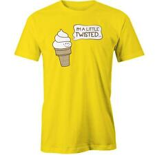 Im A Little Twisted Icecream T-Shirt Ice Cream Sweet Funny Cute Tee New