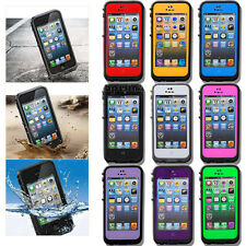 Waterproof Shockproof Dirt Dust Proof PC Heavy Duty Cover Case For iPhone 5 5S