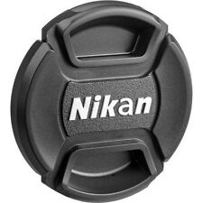 52/58/67/77 mm Center Pinch Covers For Nikon DSLR Front Lens Cap Snap-On Filters