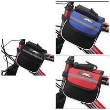 MTB Bicycle Bike Frame Pannier Saddle Front Tube Bag Double Sides Great 1D5U