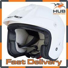 Spada Edge MX Trials Motocross Enduro ATV Crash Helmet - White