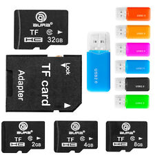 Micro SD HC 2GB 4GB 8GB 16GB 32GB 64GB Class4-10 TF Flash Memory Card for Phone