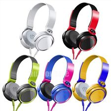 3.5mm Headphone Earphone Stereo For Mobile phone MP3 PC Tablet Laptop Universal