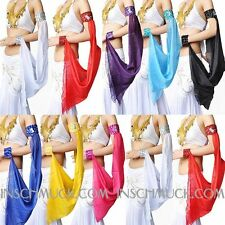 C11 Belly Dancing Costume A Piece Of Sleeve Veil Bracelet Belly Dancing 15 Color