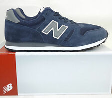 Mens New Balance M373 Navy/Grey Trainers RRP £49.99ss
