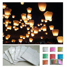 LARGE WISH SKY FIRE CHINESE LANTERNS FOR WEDDING BIRTHDAY CHRISTMAS PARTY