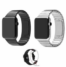 New Link Bracelet 316L Stainless Steel Watch Strap Band For Apple Watch iWatch