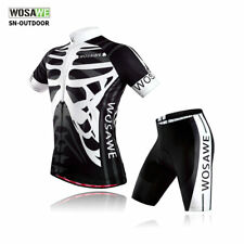 Men Cycling Jersey Bike Bicycle Clothing Short Sleeve Suit Short Set Breathable