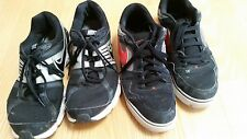 x2 PAIRS OF MEN'S USED NIKE TRAINER SHOES SIZE 44