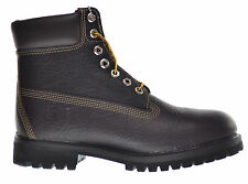 Timberland Men's 6 Inch Premium Waterproof Boots Dark Brown 6765r