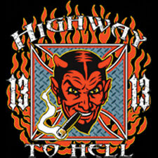 Highway To Hell Lucky 13 Devil T-Shirt Tee