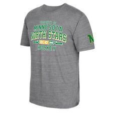 "Minnesota North Stars CCM ""Property Block"" NHL Tri-Blend Men's Gray T-Shirt"
