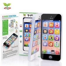 NEW YPhone Educational Toy Play Cell Phone with USB Recharable for Kid Children