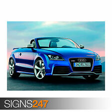 AUDI TT RS (0366) Car Poster -  Photo Picture Poster Print Art A0 A1 A2 A3 A4