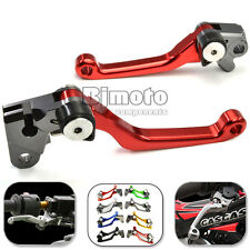 CNC Motorcycle Pivot Brake Clutch Levers Set For Honda CRF250R CRF450R 2007-2015