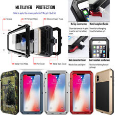 For iPhone 6s 7 Plus SE Heavy Duty Aluminum Military Duty Urban Armor Cover Case
