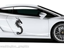 TRIBAL DRAGON 25- CAR, VAN, BOAT, WALL ART VINYL / DECAL Graphics Sticker