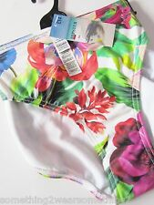 MARKS AND SPENCER  COLLECTION HIPSTER BIKINI BOTTOMS UK 16-18  RRP £14.00 FLORAL