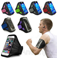 Sports Running Adjustable Mesh Air Permeable Armband Strap Pouch Case For LG