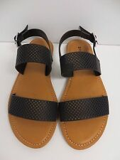 New Women Bayside02 Flat Sandal AnkleStrap Slingback Thong Shoe By Bamboo
