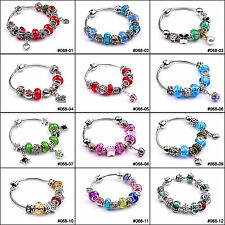 Fashion European Style Charm Crystal Murao Glass Bracelet &Bangle For Gift #068