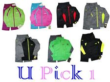 UNDER ARMOUR JACKET PANTS BOYS 2 PC TRACK SUIT SET OUTFIT ATHLETIC TRICOT 4 4t