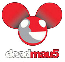 Deadmau5 Logo Progressive House DJ Music Lovers Dead Mouse Funny T-Shirt Tee