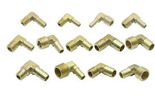 Brass 90 Deg BSPT (Taper) Thread Male Elbow x Barbed Hose Tail BSP Pipe Fittings