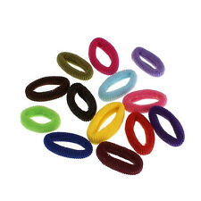 10x Elastic Rope Ring Hairband Candy Color Women Girls Hair Band Ponytail Holder