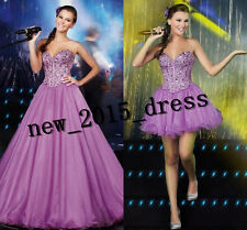 New Beaded Quinceanera Dress Formal Prom Party Ball Evening Wedding Dresses
